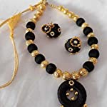 Black Fashion Jewellery Set