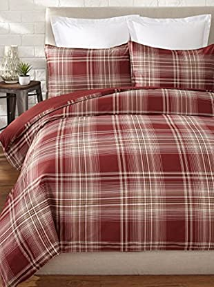 Nautica Ridgehill Duvet Set (Red)