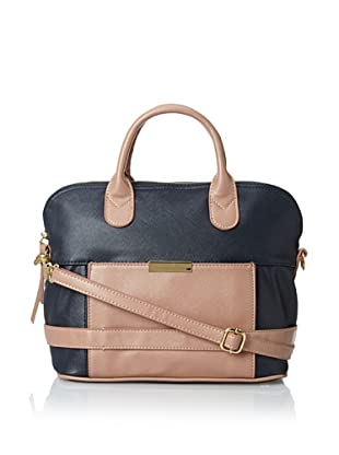 co-lab by Christopher Kon Women's Willow Satchel, Navy/Taupe