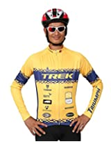Triumph Firefox Cycling Suit jersey, Yellow (S)