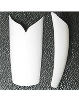 Jovana 500 Pcs V Shape White Acrylic French Nail Art Tip