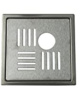 Aquieen Stainless Steel Floor Grating (Silver, florinpc)