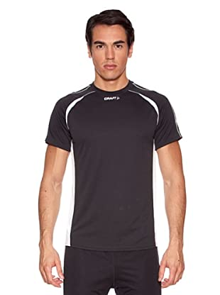 Craft Camiseta Manga Corta T&F (Negro)