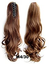 "A.H 22"" Super High Quality Pony Tail Hair Extension Synthetic Hairpiece Wigs 170g #M4/30"