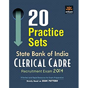 20 Practice Sets: SBI Clerical Cadre Recruitment Exam 2014 (Old Edition)