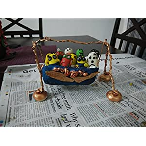 NUCreations Clay Swing With Toys