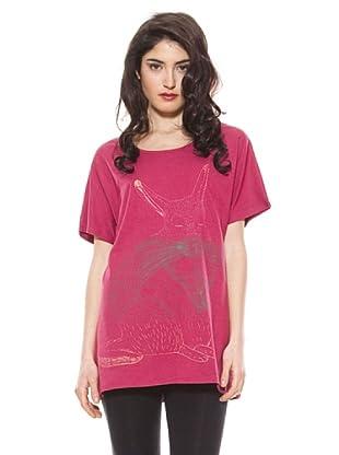 La Casita de Wendy Camiseta Familia T-Shirt (Rosa)
