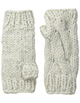 San Diego Hat Company Women's Chunky Yarn Fingerless Gloves