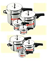 Anantha Perfect Aluminium Pressure Cooker,3 Liters