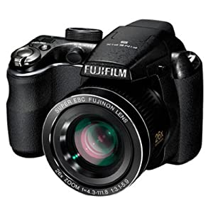 Fujifilm FinePix S3300 14MP Point-and-Shoot Digital Camera with 26x Optical Zoom (Black)