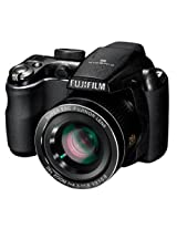 Fujifilm FinePix S3300 14MP Point and Shoot Camera (Black) with 26x Optical Zoom