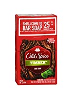 Old Spice Timber Bar Soap (6 Pack)