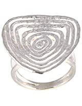 Silberuh Sterling-Silver Ring For Women ( Silver )