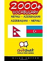 2000+ Nepali - Azerbaijani Azerbaijani - Nepali Vocabulary