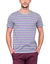 Yepme Men's Multi-Coloured Cotton T-shirt -YPMTEES0273_XL