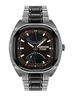 K&BROS 9450-2 / Reloj de Caballero con brazalete metálico Marrón