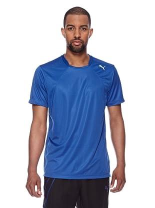 Puma Trainings T-Shirt Multi Poly (monaco blue)