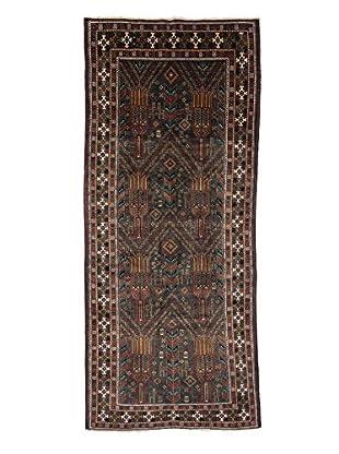 Darya Rugs Authentic Persian Tribal Rug, Red, 3' 10