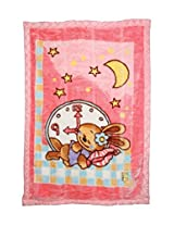 Fine Fur & Velvet Blankets For New Born Babies MM-98050 Pink