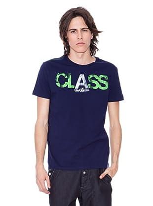 Gio Goi Camiseta Thadford (azul marino)