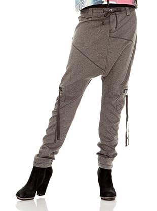 Desigual Pantalón Kobi (Gris Vigore Oscuro)