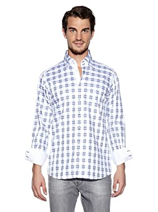 Otto Kern Camisa Virgile (Azul / Blanco)