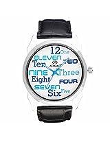 ADAMO Designer Mens Gents Wrist Watch AD1101BL