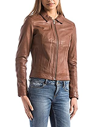 BLUE WELLFORD Lederjacke Savara cognac M