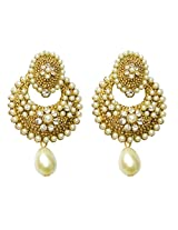 Dhwani Creation Pearl Alloy Drop Earring For Girls & Women