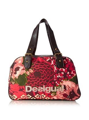 Desigual Women's Desi Satchel, Red