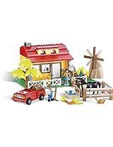 COBI Action Town Farm House Building Kit