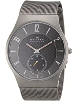 Skagen Chronograph Black Dial Men's Watch - 805XLTTM