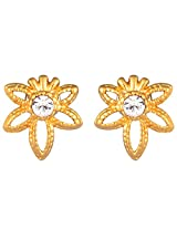 Estelle Gold Plated Studs for Women (ESER497-728)