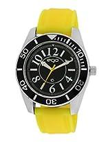 Maxima E-Go Attivo Analog Black Dial Men's Watch - E-30203PAGC