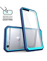 SUPCASE Clear Hybrid Protective Bumper Case Cover for Apple iPhone 6 6S - Blue