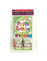 Charmed celebrations PRINTED PARTY PAK FOR 8