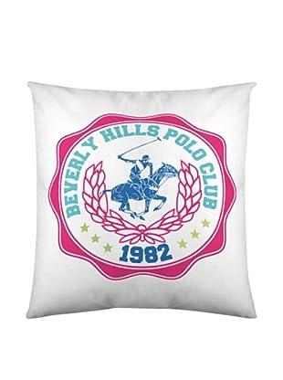 Beverly Hills Polo Club Funda De Cojín Brooklyn (Blanco)