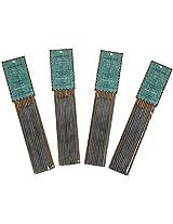 Auroshikha Gum Damar Resin Incense Sticks (10 long incense sticks per pack ) - Pack of 4