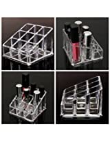 Lipstick Nail Polish Makeup Cosmetic Storage Display Stand Holder