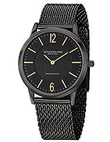 Stuhrling Original Classic Analog Black Dial Men's Watch - 122.33551