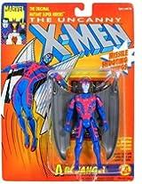 "Marvel The Uncanny X-Men ARCHANGEL (Gray Wings) 5"" Action Figure (1993 ToyBiz)"