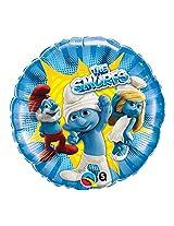 """The Smurfs 18"""" Mylar Balloons- 3pk"""