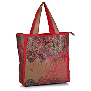 Desigual Tricolor Shopping Bag