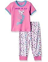 Donuts Baby Girls' Pyjama
