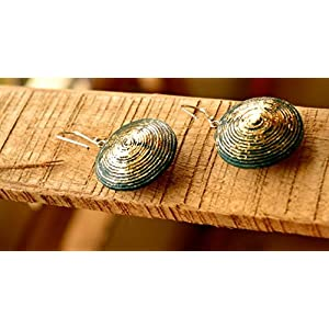 HappiSage Gloriously Gold Paper Earring