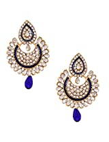 Ethnic Indian Artisan Jewelry Set Pretty Dangler EarringsBAEA0353BL