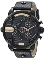 Diesel End-of-Season Chronograph Black Dial Men Watch - DZ7291