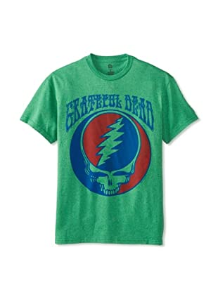 Grateful Dead Men's Crew Neck Tee (Kelly Heather)