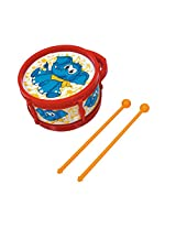 Simba My Music World Plastic Drum With 2 Drumsticks Elephant Version, Red