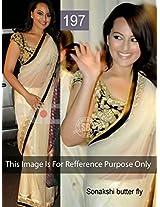 Indian Designer Sonakshi Butter Fly Saree/p197